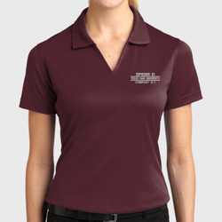 D-1 Ladies Dri-Mesh Polo